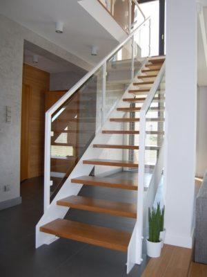 schody policzkowe - blacha 13