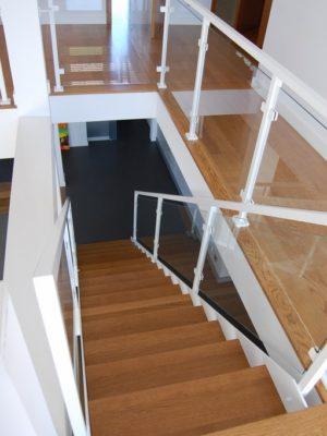 schody policzkowe - blacha 17